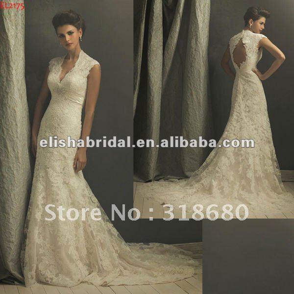 designer wedding dresses lace sleeves