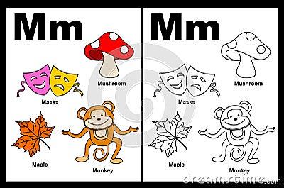 Letter M Worksheets For Preschool