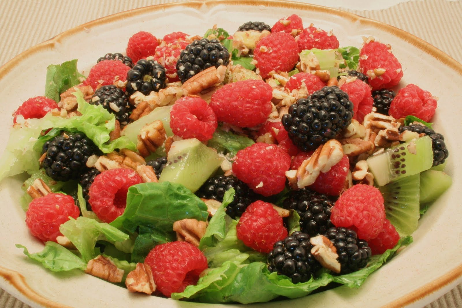 Lettuce Salad Recipes With Fruit