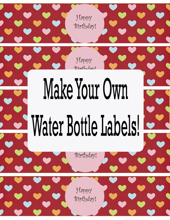 Bottle Labels Template Free