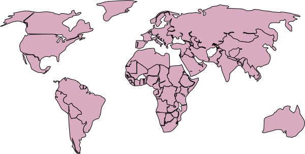 World map black and white png gumiabroncs Gallery