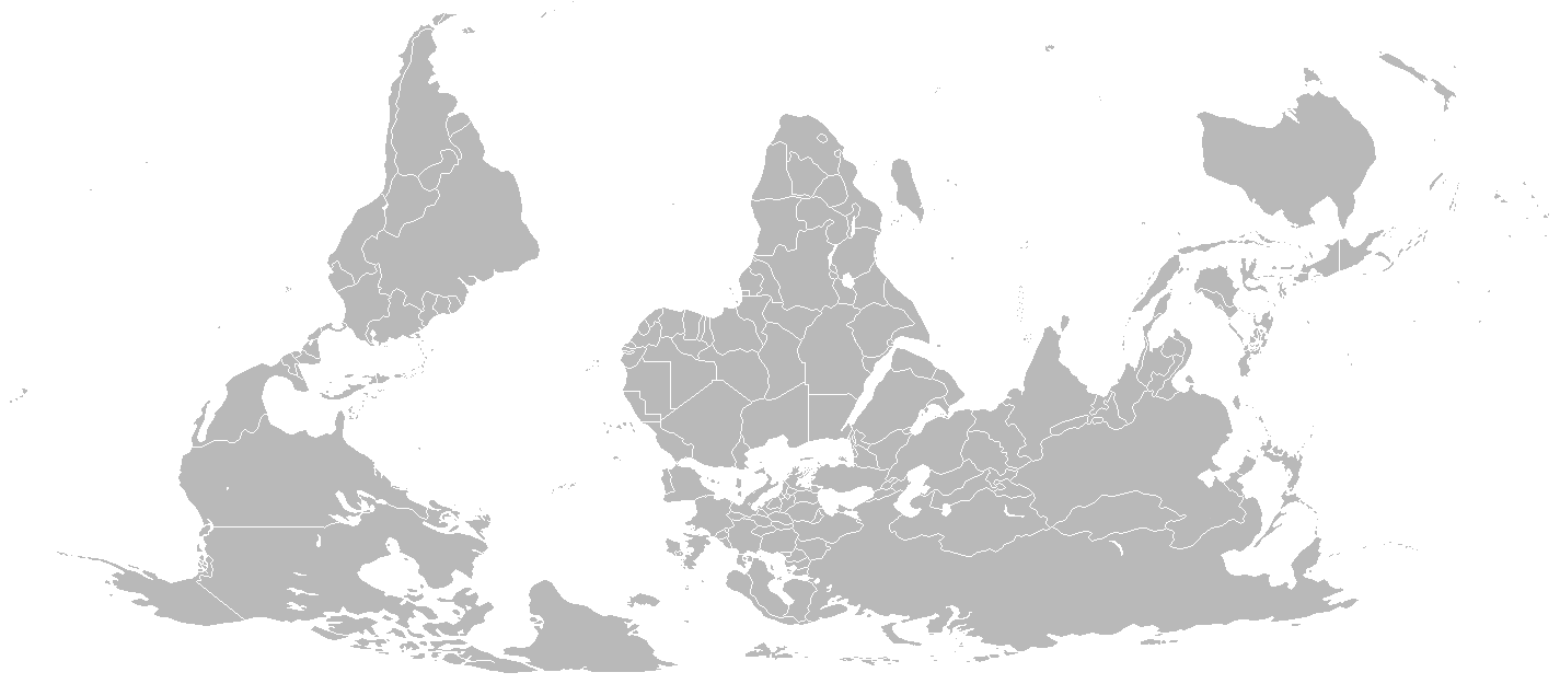 Map Blank - Blank map of the world for students