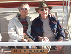 Claudia and Lou